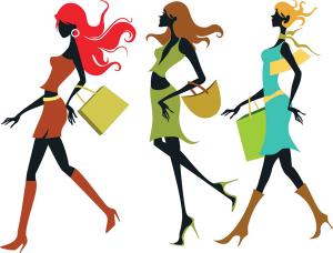 119_Shopping_Girls_Vector
