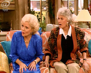 Thank you for being a fashion trendsetter friend oh for Why did bea arthur leave golden girls